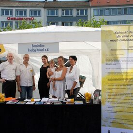 Infostand Borderline Trialog Kassel e.V.