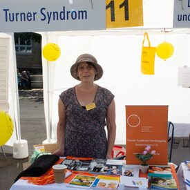 Infostand der Selbsthilfegruppe Turner Syndrom