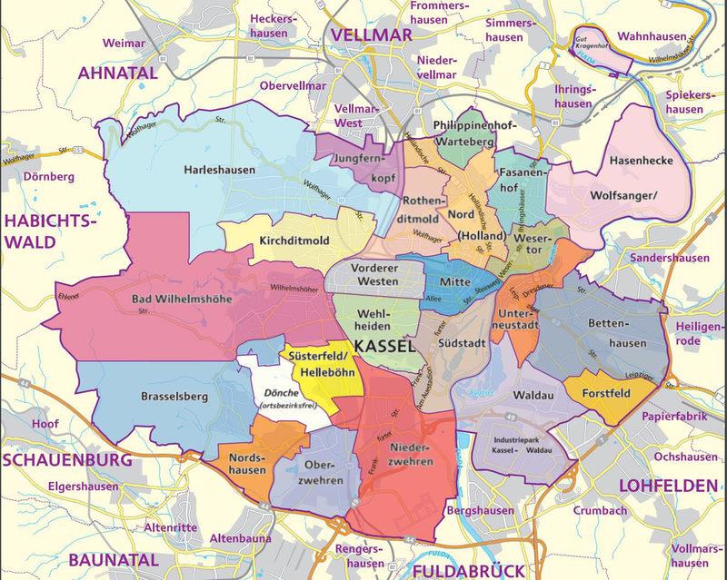Ortsbeiräte | Der offizielle Internetauftritt der Stadt Kassel