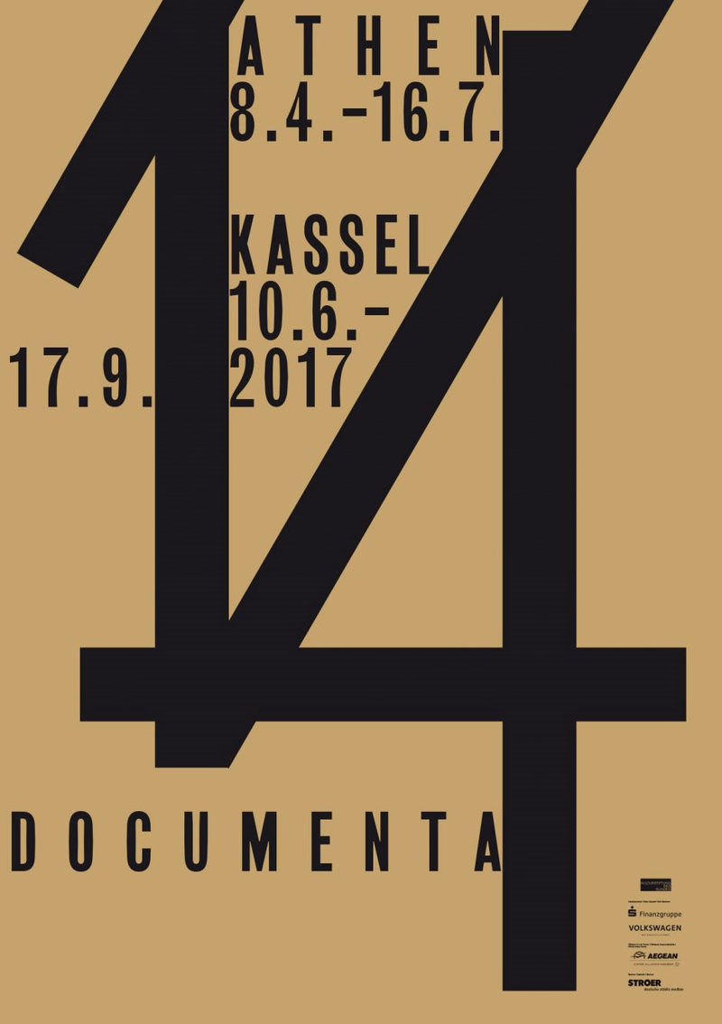 Plakat documenta 14