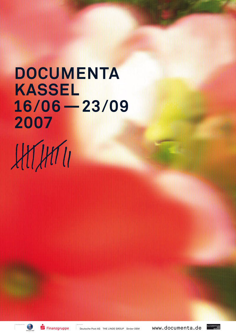 Plakat zur documenta 12 in 2007