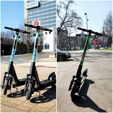 E-Scooter in Kassel